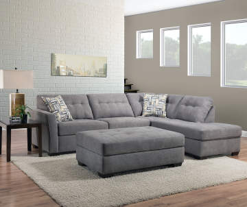 Pasadena Gray Living Room Collection