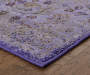 Penrose Purple Area Rug 5 Feet 3 Inches by 7 Feet 6 Inches Corner View Lifestyle Image