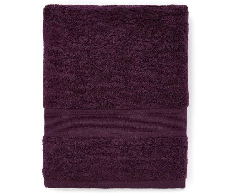 Perfect Plum Bath Towel silo front
