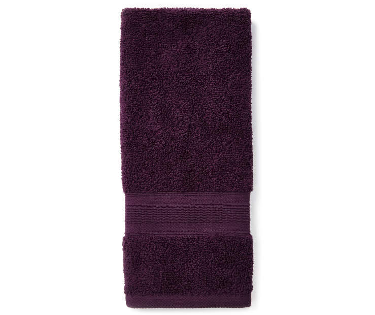 Perfect Plum Hand Towel silo front