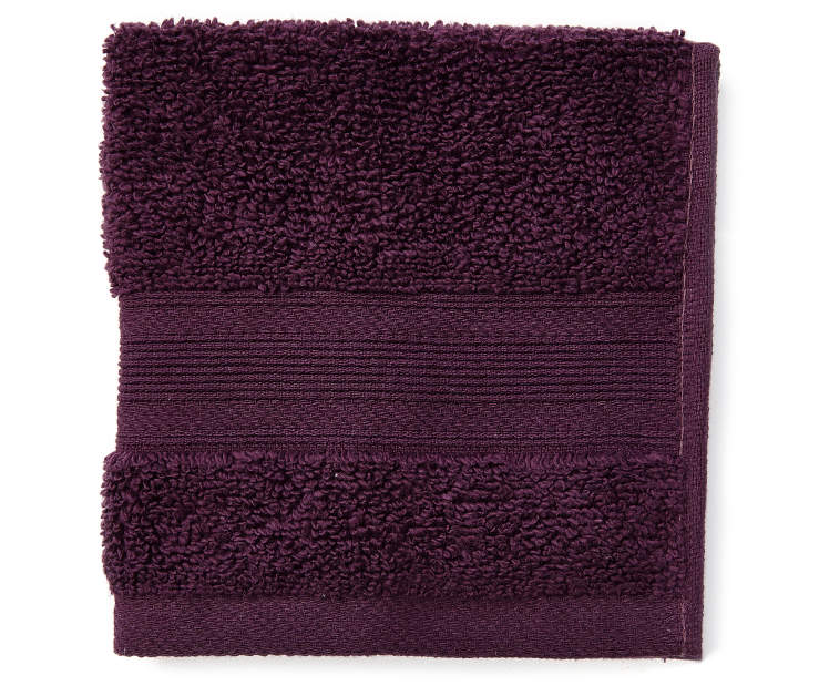 Perfect Plum Wash Towel silo front