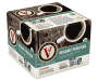 Peruvian 42 Pack Single Serve Brew Cups Box Package with cup graphic, flavor details and information quarter side view silo image
