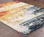Peyton Multi Color Abstract Area Rug 7 feet 10 inch x 10 feet 10 inch lifestyle