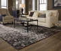 Phelps Gray Area Rug 7 Feet 10 Inches by 10 Feet 10 Inches in Living Room Lifestyle Image