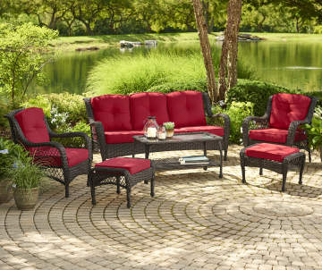 Outdoor Replacement Cushions Chair Pads Big Lots