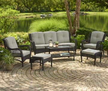 Patio Cushions Outdoor Pillows Chair Cushions Big Lots