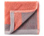 Pink and Gray Reversible Wash Cloth silo front