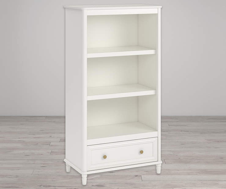 Piper Cream 3 Shelf Bookcase lifestyle