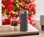 Platinum Concierge Wireless Speaker with Amazon Alexa On COUnter Next to Glass 2