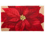 Poinsettia Hook Accent Rug 18 x 30 Silo Image