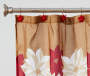 Poinsettia Shower Curtain Hooks Set lifestyle bathroom