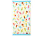 Popsicles and Ice Cream Beach Towel 30 inches  x 60 inches silo front