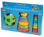Preschool Teach Time Toy Set silo angled in package
