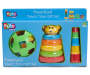 Preschool Teach Time Toy Set silo front in package