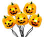 Pumpkin Battery Operated Micro Light Set 30 Count silo front