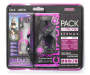 Purple Sport Pack Earphones 2-Pack In Package Silo