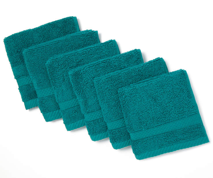 Quetzal Green Wash Cloths  6 Pack silo front