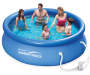 Quick Set® Pool, 10 by 30 Silo Image Overhead View Family