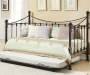 Quinn Metal Twin Daybed with Trundle Decorated Room View