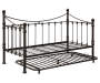 Quinn Metal Twin Daybed with Trundle Frame Silo Image