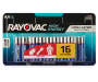 RAYOVAC Alkaline Battery AA 16-Count Carded Pack