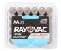 RAYOVAC Alkaline Battery AA 30-Count Reclosable Pack