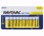 RAYOVAC Zinc Carbon Battery AA 20-Count Carded Pack