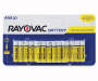 RAYOVAC Zinc Carbon Battery AAA 20-Count Carded Pack