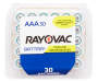 RAYOVAC Zinc Carbon Battery AAA 30-Count Reclosable Pack