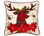 RC DEC PILLOW DEER APPLIQUE