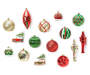 RED/GREEN/GOLD 36PK ASST SHAPE
