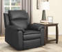 RELX LNGR CAREY RECLINER BLACK