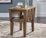 ROWENBECK BROWN END TABLE