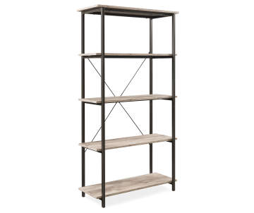 Non Combo Product Selling Price 7999 Original List Stratford Rustic 5 Shelf Bookcase
