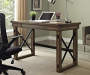 RUSTIC GREY OAK DESK lifestyle