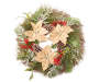 RUSTIC WREATH W/PINE & BERRIES