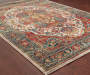 Raffin Traditional Area Rug 5 feet 3 inch x 7 feet 6 inch lifestyle