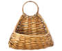 Rattan Weave Hanging Basket silo front