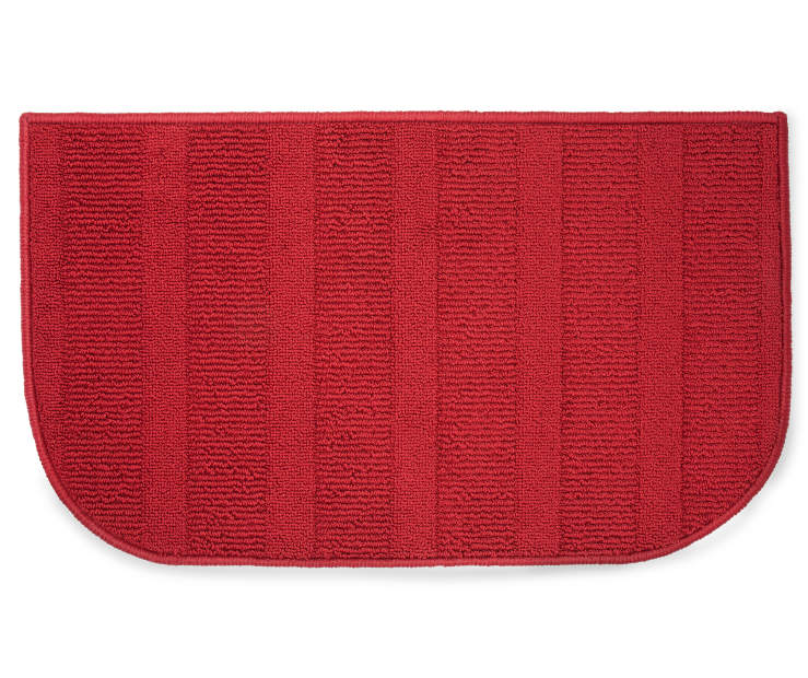 Red Accent Rug 18 inches x 30 inches silo front
