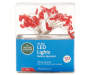 Red Candy Cane Battery Operated LED Light Set 30 Count silo front package