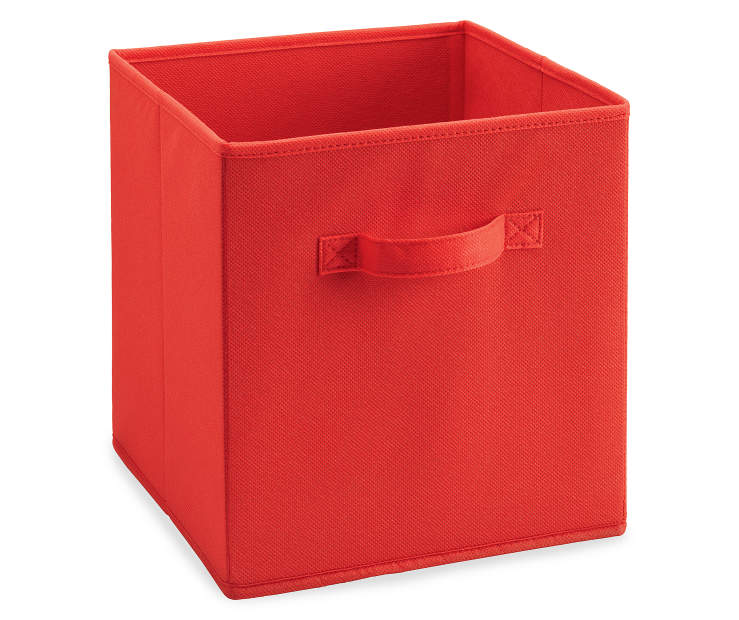 Red Fabric Bin Silo Image