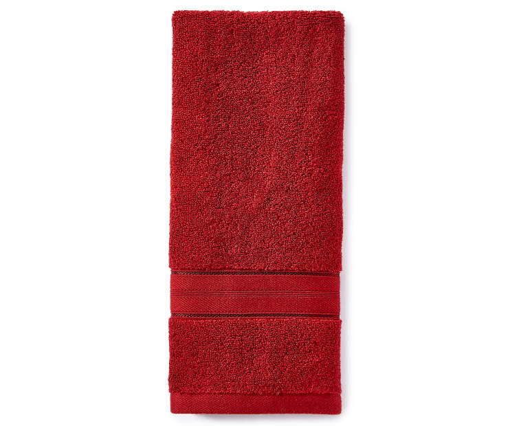 Red Hand Towel silo front