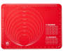Red Silicone Bake Mat silo front
