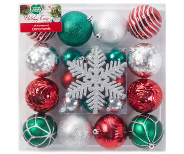 non combo product selling price 120 original price 120 list price 120 - Red And Silver Christmas Ornaments