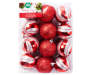 Red and Silver Shatterproof Ornaments 24 Pack silo front package