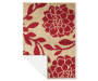 Red and Tan Nicolet Accent Rug 2 Feet by 2 Feet 11 Inch Corner Showing Silo Image