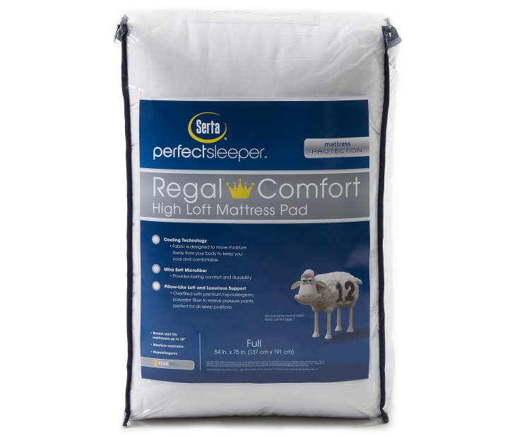 Regal Comfort Cooling Full Mattress Pad Silo in Packaging