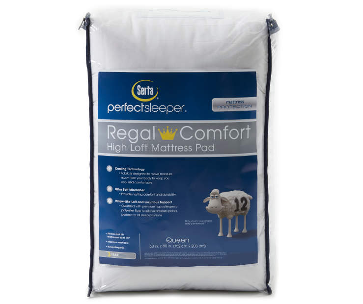 Regal Comfort Cooling Queen Mattress Pad Silo in Packaging