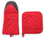 Res Oven Mitt and Pot Holder Set Side by Side Silo