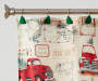 Retro Truck Shower Curtain Hooks Set lifestyle